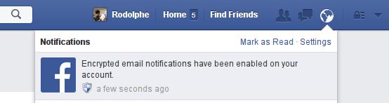 Facebook et GPG